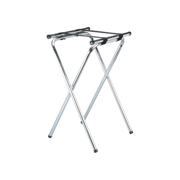 480 x 400 x 770mm Tray Stand - Chrome
