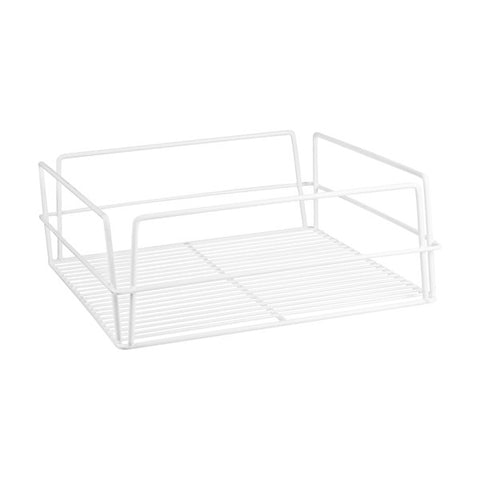 355 x 355 x 125mm Glass Basket - Square High Sided