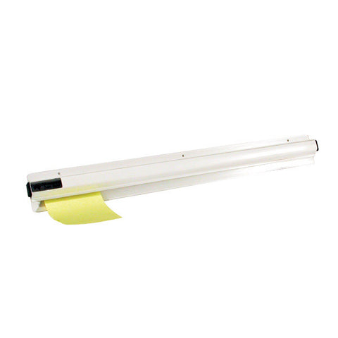 500mm Docket Holder - White PVC
