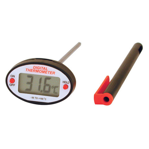 Oval Head Digital Thermometer -50˚C to 150˚C