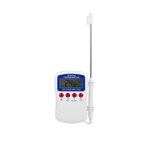 Hand Held Digital Alarm Thermometer -50/200c