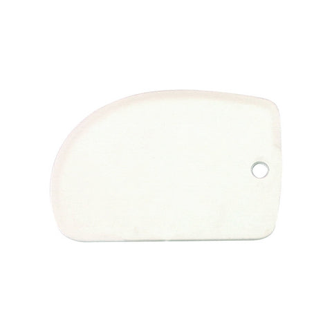 125 x 85mm Dough Scraper - Plastic
