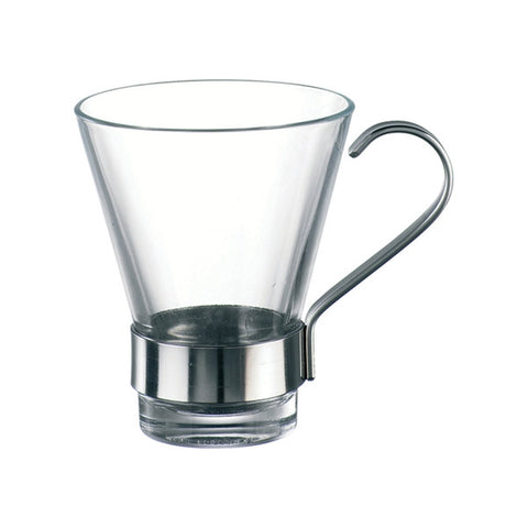 110ml Espresso Glass with Frame - Ypsilon