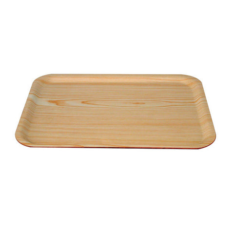 600 x 450mm Rectangular Wood Tray - Birch