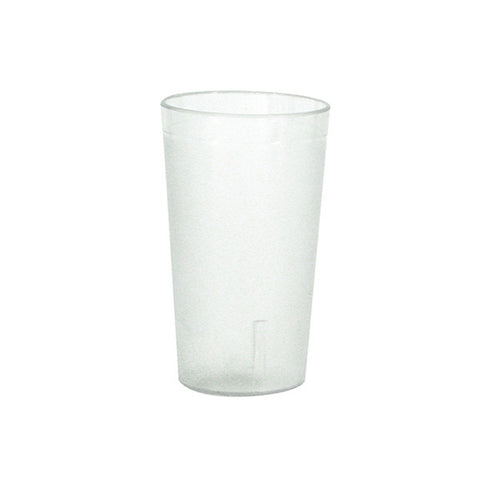 340ml Clear Pebbled Tumbler