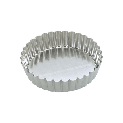 230 x 45mm Fluted Cake Pan - loose base