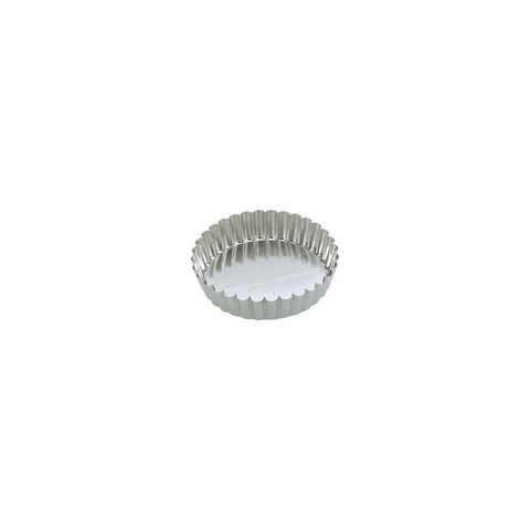 180 x 40mm Fluted Cake Pan - loose base