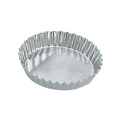 105 x 20mm Tart Mould Fluted - fixed base