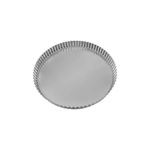 240 x 25mm Round Fluted Quiche Pan - Loose Base