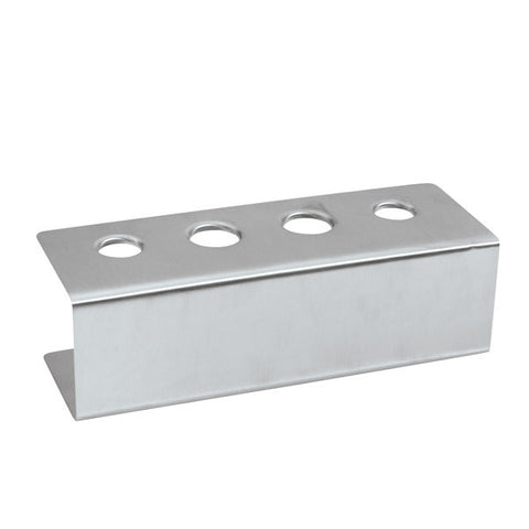 Ice Cream Cone Holder - 4 Hole - 18/8 Stainless Steel