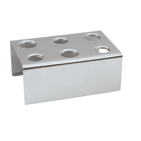 Ice Cream Cone Holder - 6 Hole - 18/8 Stainless Steel