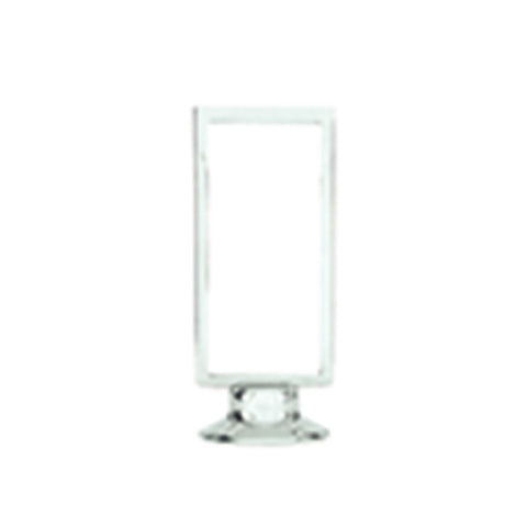 205 x 105mm Menu Stand Frame - 18/8 Stainless Steel