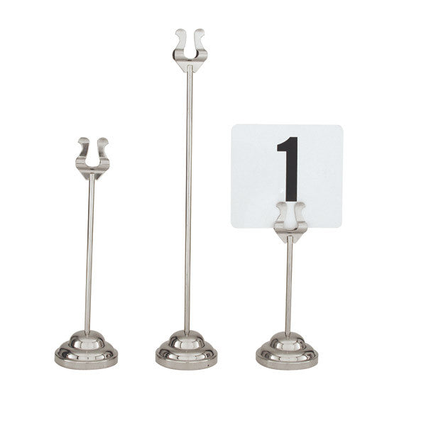 200mm Table Number Stand Harp Clip 67mm Heavy Duty Base