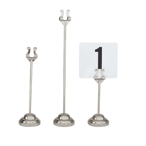 300mm Table Number Stand Harp Clip 67mm Heavy Duty Base