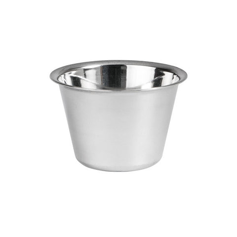 115ml Dariol Mould / Sauce Cup - Stainless Steel (80mm)