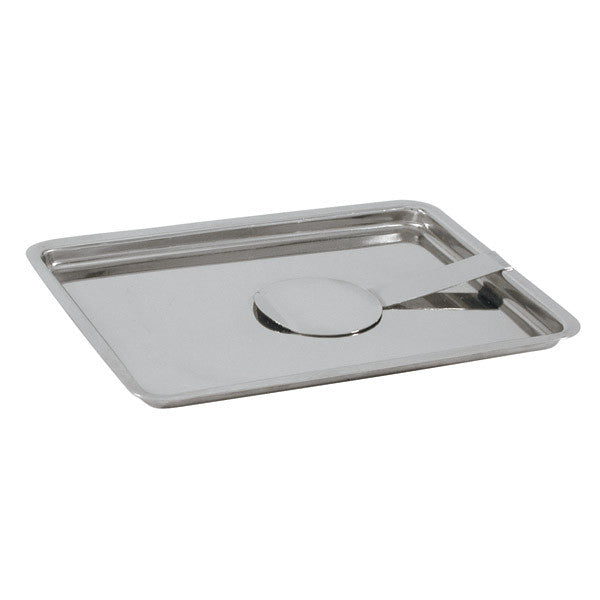 """180 x 135mm Bill Tray 18/8 Stainless Steel with Spring"""