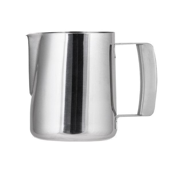 1 Litre Water / Milk Frothing Jug - 18/10 Stainless Steel Hollow Handle