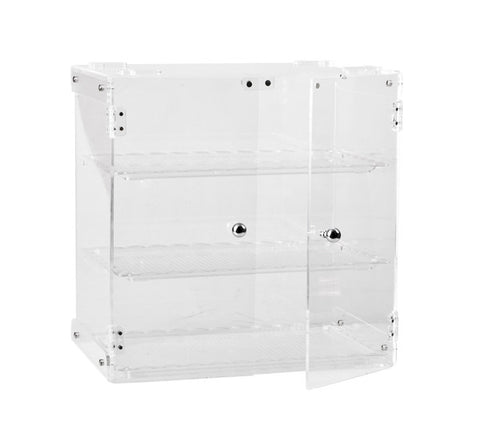 450 x 310 x 460mm Display Cabinet - Polycarbonate 3 Shelves