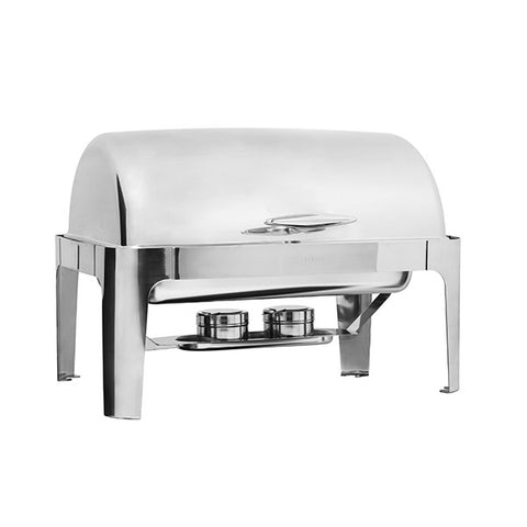 Deluxe Rectangular Roll Top Chafer