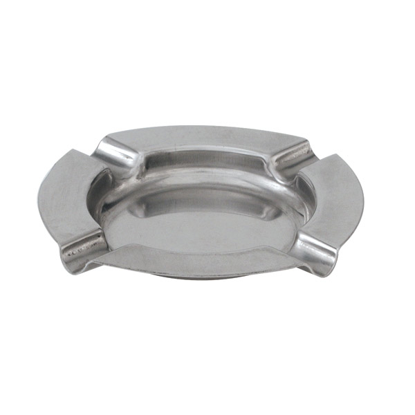 Stainless Steel Round Ashtray 125mm