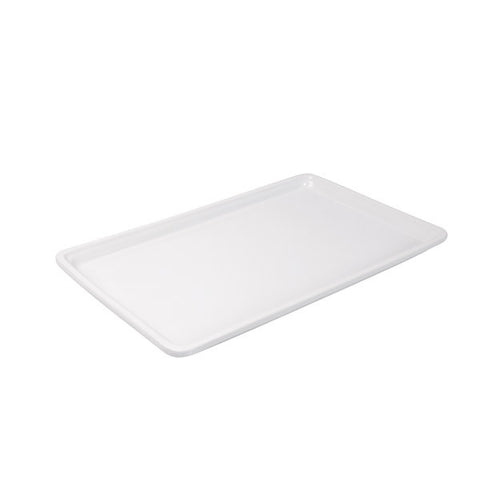 1/1 size Porcelain Food Pan 25mm Depth - White
