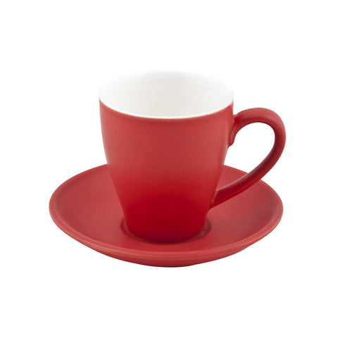 200ml Cono Cappuccino Cup - Red