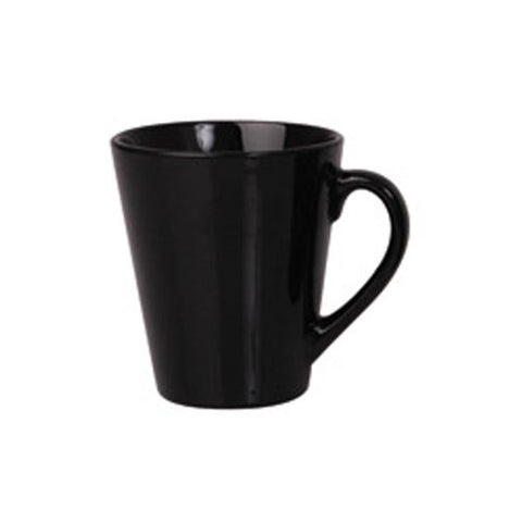 280ml Tapered Mug - Black