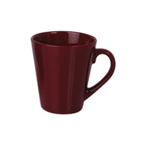 280ml Tapered Mug - Maroon