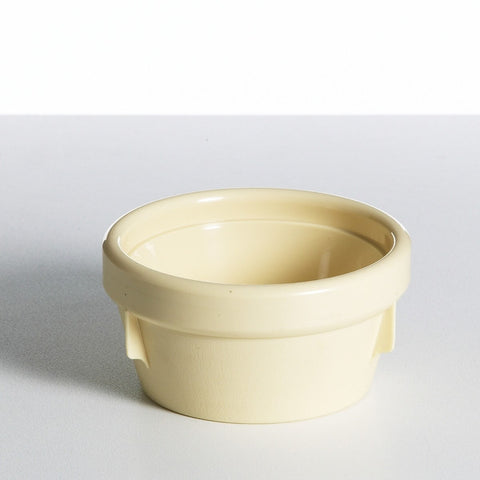 Yellow Bowl Insulated 125mm