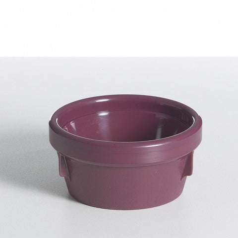 Burgundy Bowl Insulated 125mm
