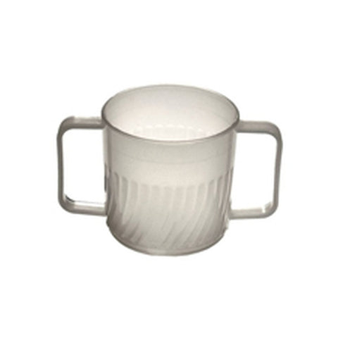 Traditional Double Handle Mug Clear