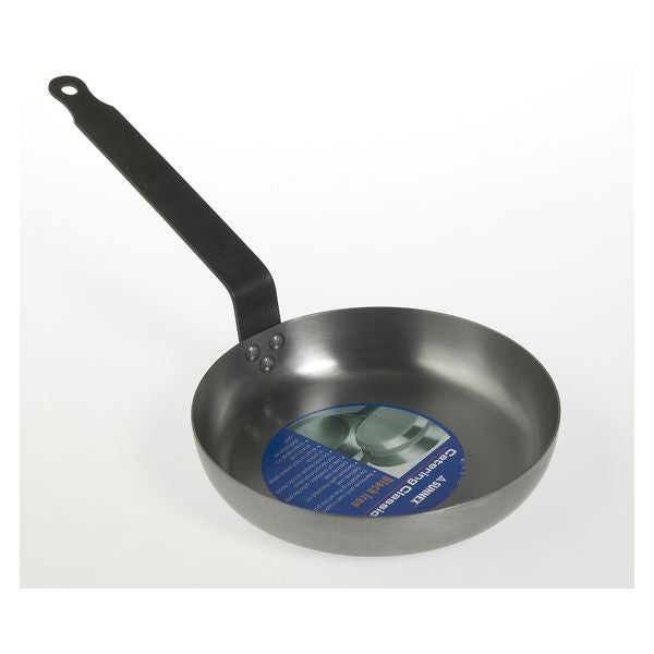 Black Iron Omelette Pan