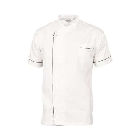 Cool-Breeze Modern Jacket - Short Sleeve White - DNC Chef