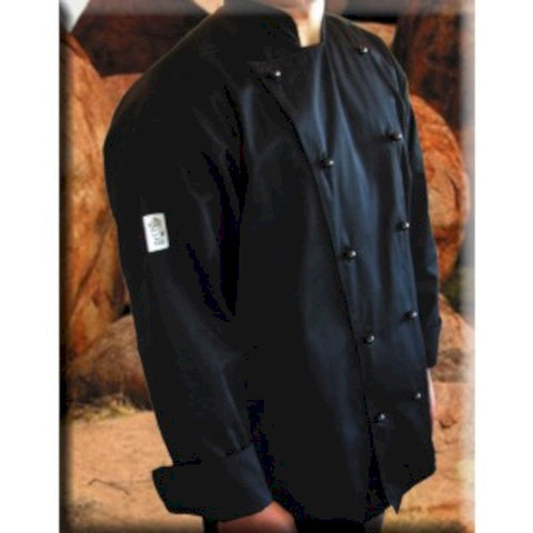 Black Long Sleeve Chef Jacket- Global Chef