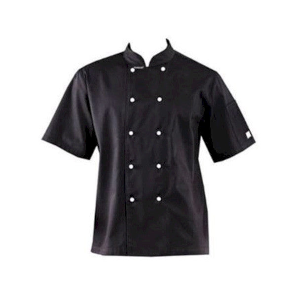 Lightweight Short Sleeve Jacket Black
