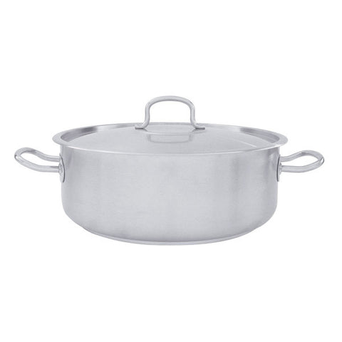 "10 Litre Casserole With Cover ""INOX-PRO"""