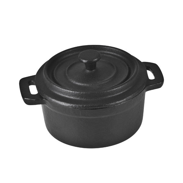 100mm mini casserole round cast iron troy club. Black Bedroom Furniture Sets. Home Design Ideas