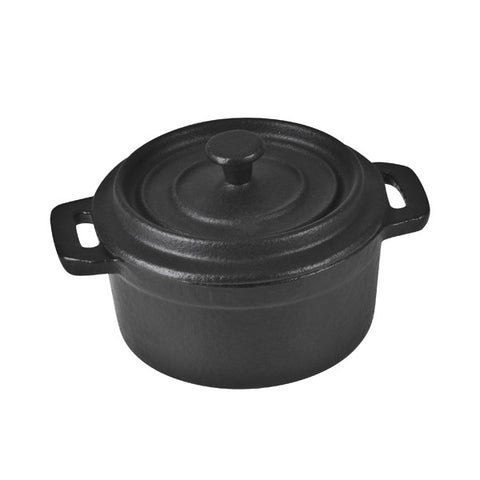100mm Mini Casserole - Round - Cast Iron