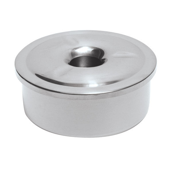 110mm Outdoor Ashtray - Stainless Steel