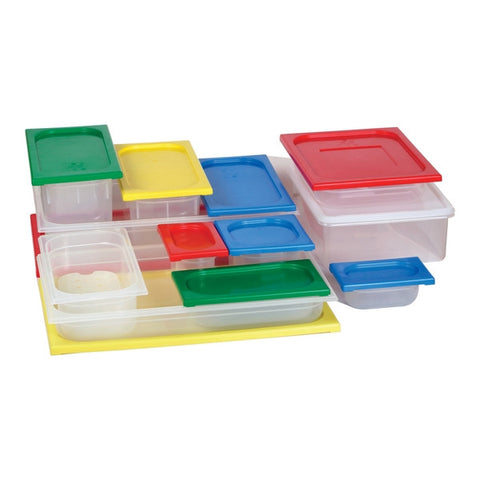 1/1 LID - Red Polypropylene