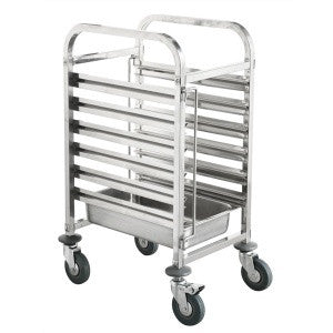 Gastronorm Trolley 380 x 550 x 1000mm