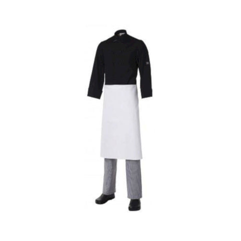 Club Chef ¾ Apron Heavyweight Cotton White (no pocket)