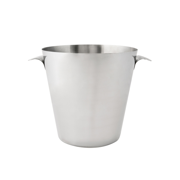 Wine Bucket Flared Handles 18/8 Stainless Steel Mirror Polished
