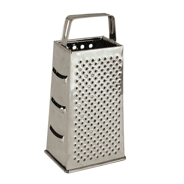Flat Handle Stainless Steel Grater