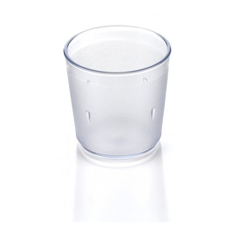 Tea Tumbler Round Clear 8oz/250ml