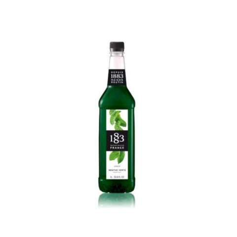 Routin 1883 Green Mint Syrup 1 Litre