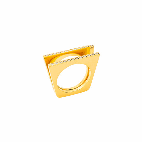 Gold Alexa Ring