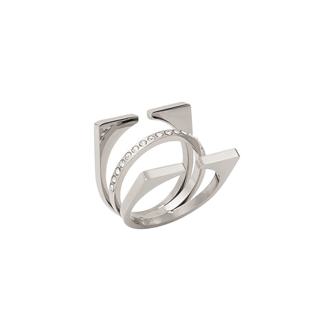 Silver Cage Ring
