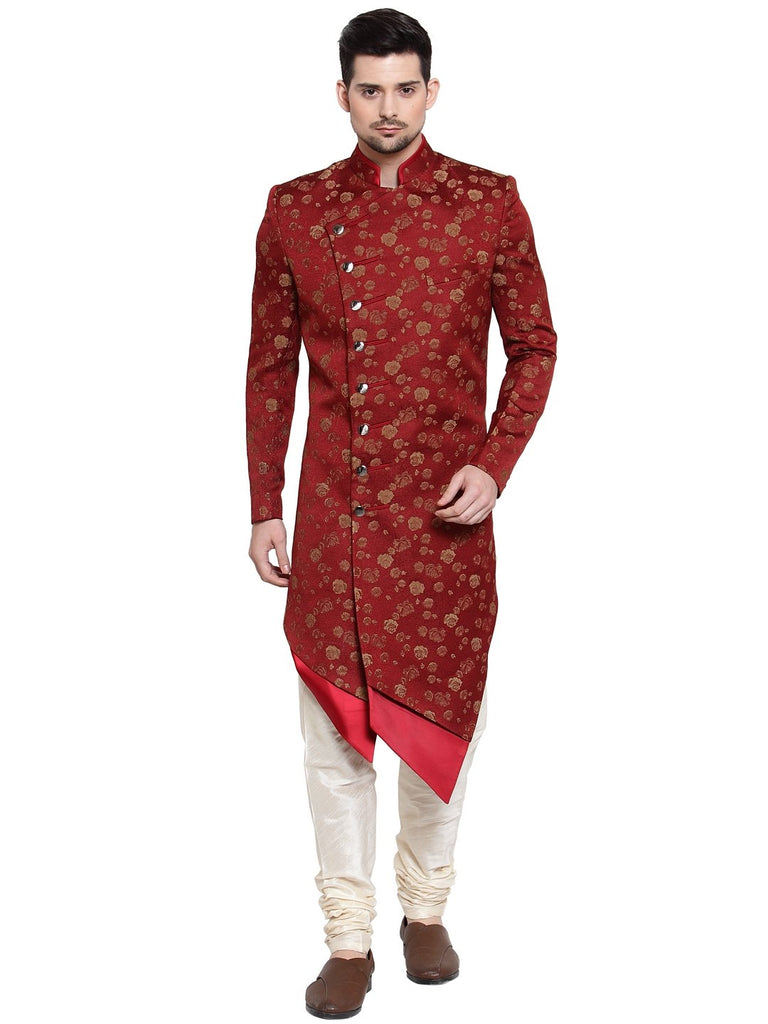 Mens royal look with royal blue indo-western