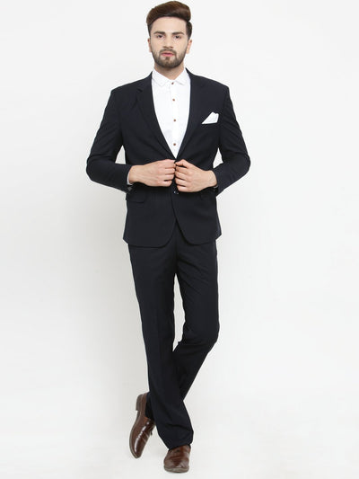 Buy this smart 2 piece navyblue mens suit online